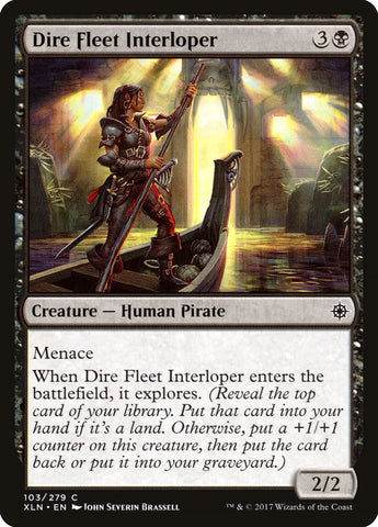 Dire Fleet Interloper [Ixalan]