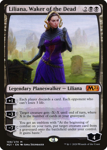 Liliana, Waker of the Dead [Core Set 2021]