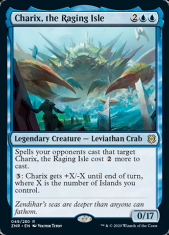 Charix, the Raging Isle [Zendikar Rising]