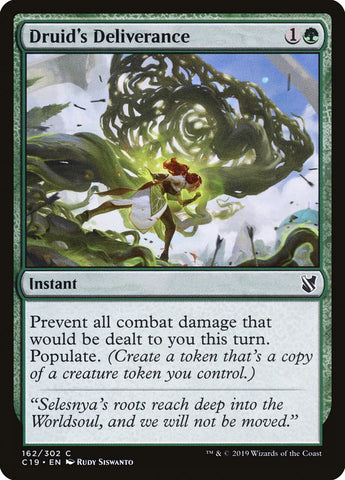 Druid's Deliverance [Commander 2019]