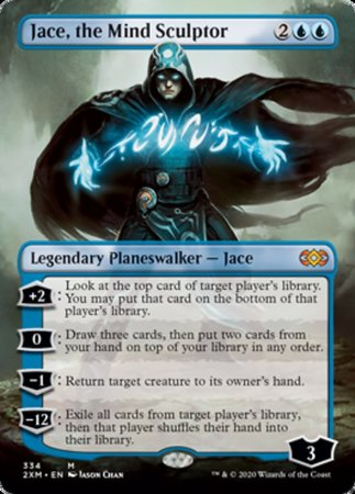Jace, the Mind Sculptor (Borderless) [Double Masters]