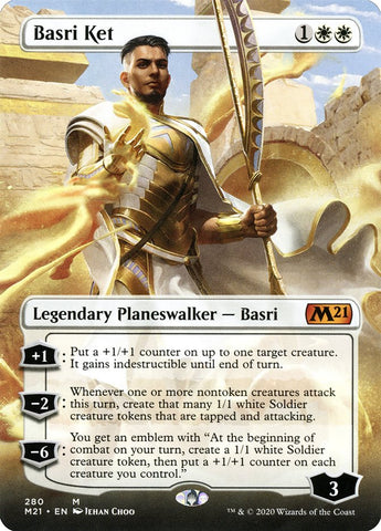 Basri Ket (Borderless) [Core Set 2021]