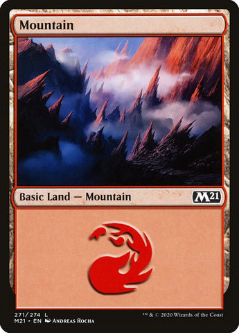 Mountain (271) [Core Set 2021]