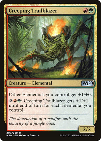 Creeping Trailblazer [Core Set 2020]