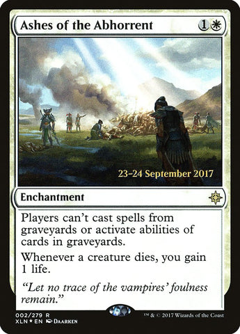 Ashes of the Abhorrent [Prerelease Cards]