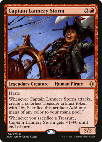 Captain Lannery Storm [Promo Pack: Core Set 2020]