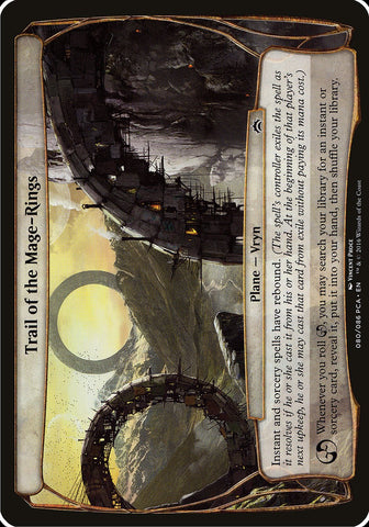 Trail of the Mage-Rings (Planechase Anthology) [Oversize Cards]