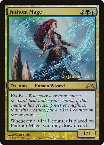 Fathom Mage [Prerelease Cards]