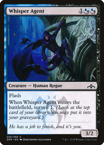 Whisper Agent [Guilds of Ravnica]