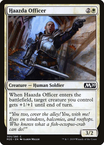 Haazda Officer [Core Set 2020]