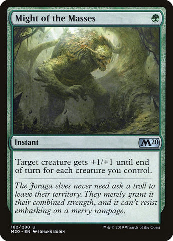 Might of the Masses [Core Set 2020]