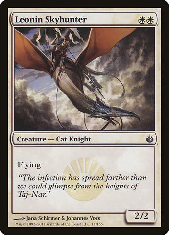 Leonin Skyhunter [Mirrodin Besieged]
