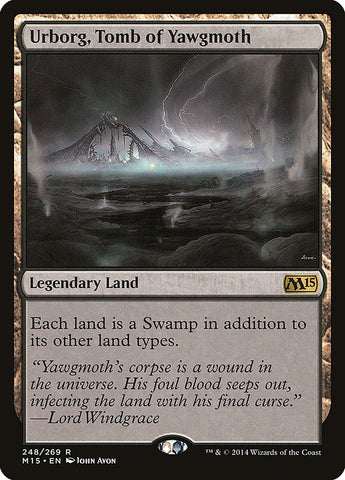Urborg, Tomb of Yawgmoth [Magic 2015 (M15)]