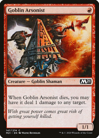 Goblin Arsonist [Core Set 2021]