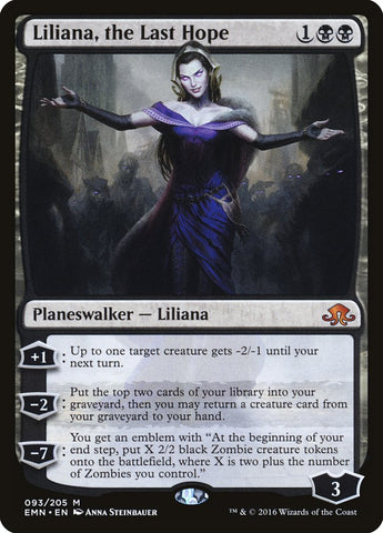 Liliana, the Last Hope [Eldritch Moon]