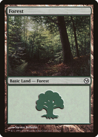 Forest (112) [Duels of the Planeswalkers]