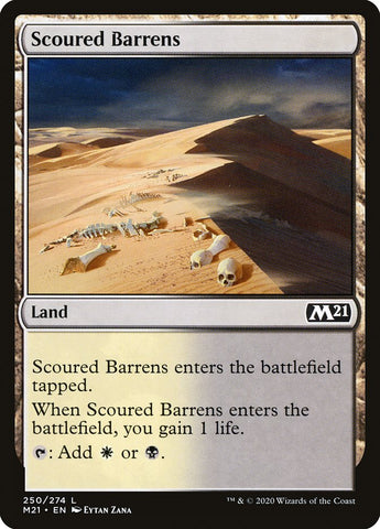 Scoured Barrens [Core Set 2021]