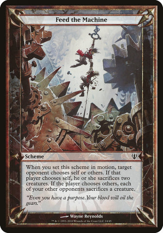 Feed the Machine (Archenemy) [Oversize Cards]