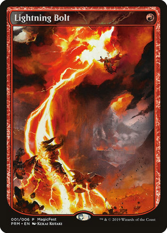 Lightning Bolt [MagicFest Cards]