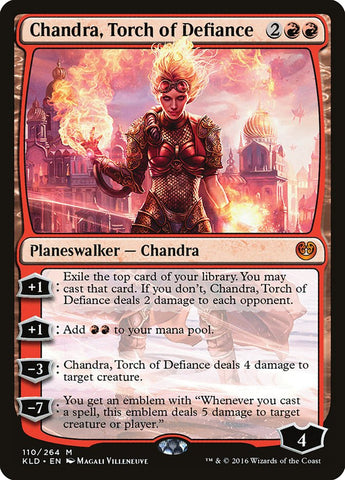 Chandra, Torch of Defiance [Kaladesh]