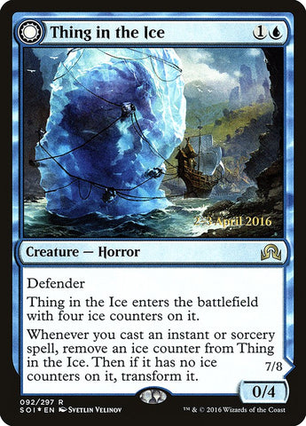 Thing in the Ice [Prerelease Cards]