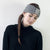 Triangle knitted headband - monochrome