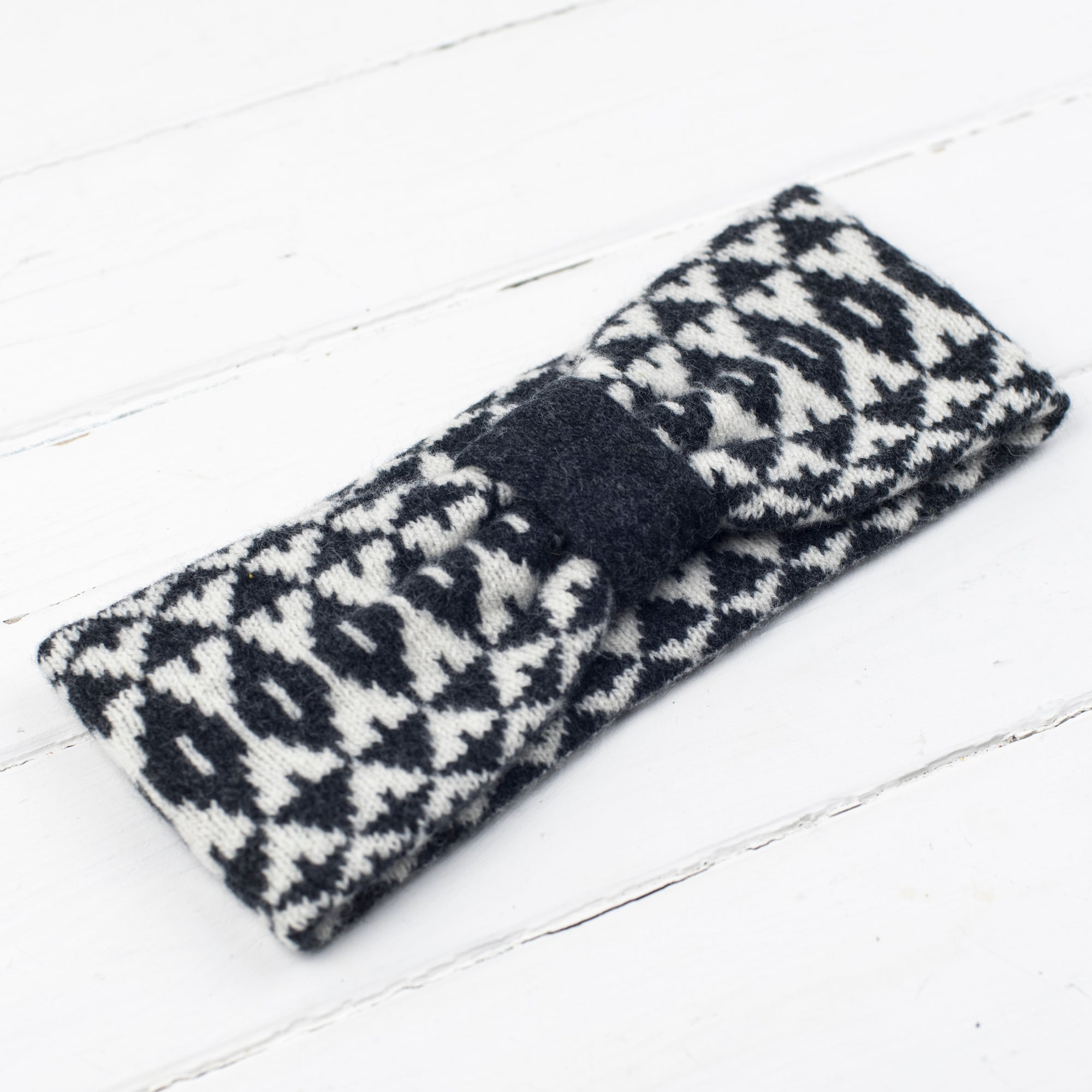 Mirror headband - monochrome