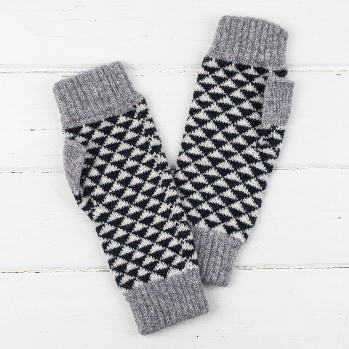 Fingerless mitts - small size