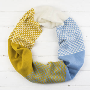 Piccalilli triangle circle scarf