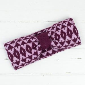 Mirror headband - berry