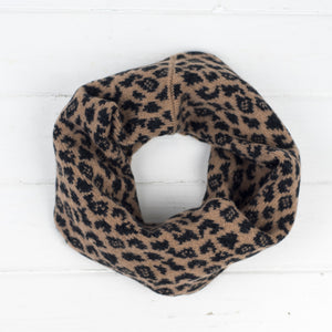 Leopard snood / cowl
