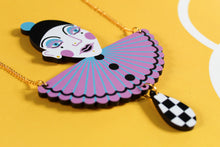Load image into Gallery viewer, Pierrot Bust Necklace
