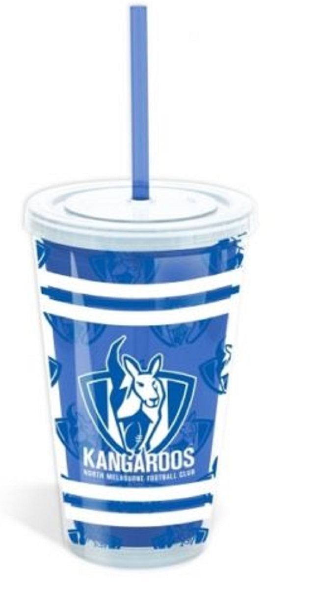 North Melbourne Kangaroos Official AFL Acrylic Tumbler Non Spill
