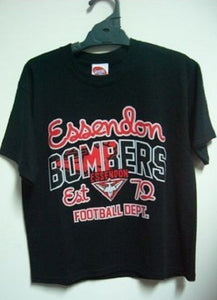Essendon Bombers Official AFL Youth T-Shirt Tee Summer