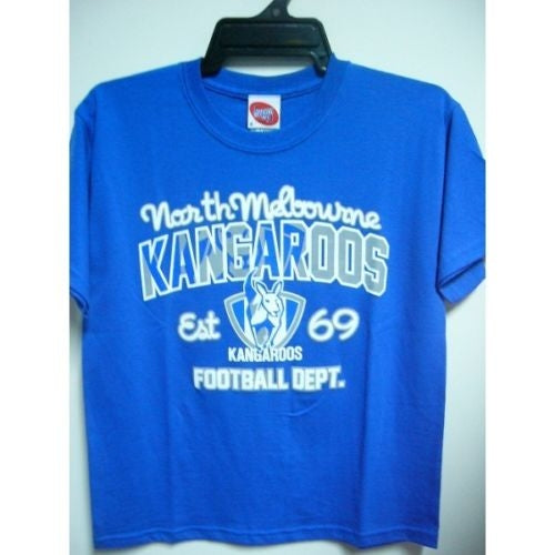 North Melbourne Kangaroos Official AFL Youth T-Shirt