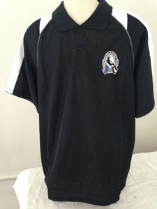 Collingwood Magpies Essentials Mens Polo Shirt Official AFL AF2740