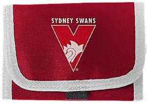 Sydney Swans Official AFL Polyester Team Logo Wallet Purse