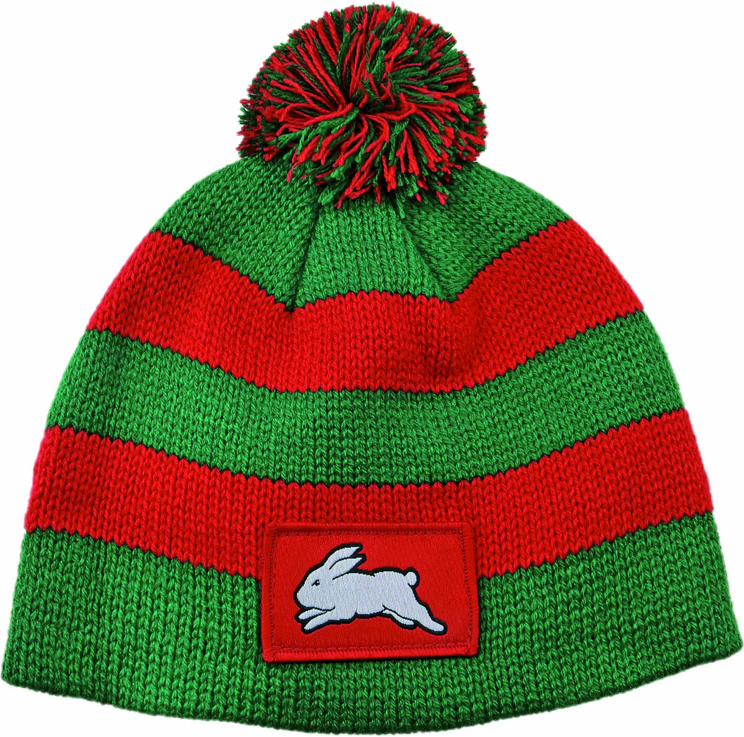 South Sydney Rabbitohs Official NRL Chunky Knit Baby Infant Beanie