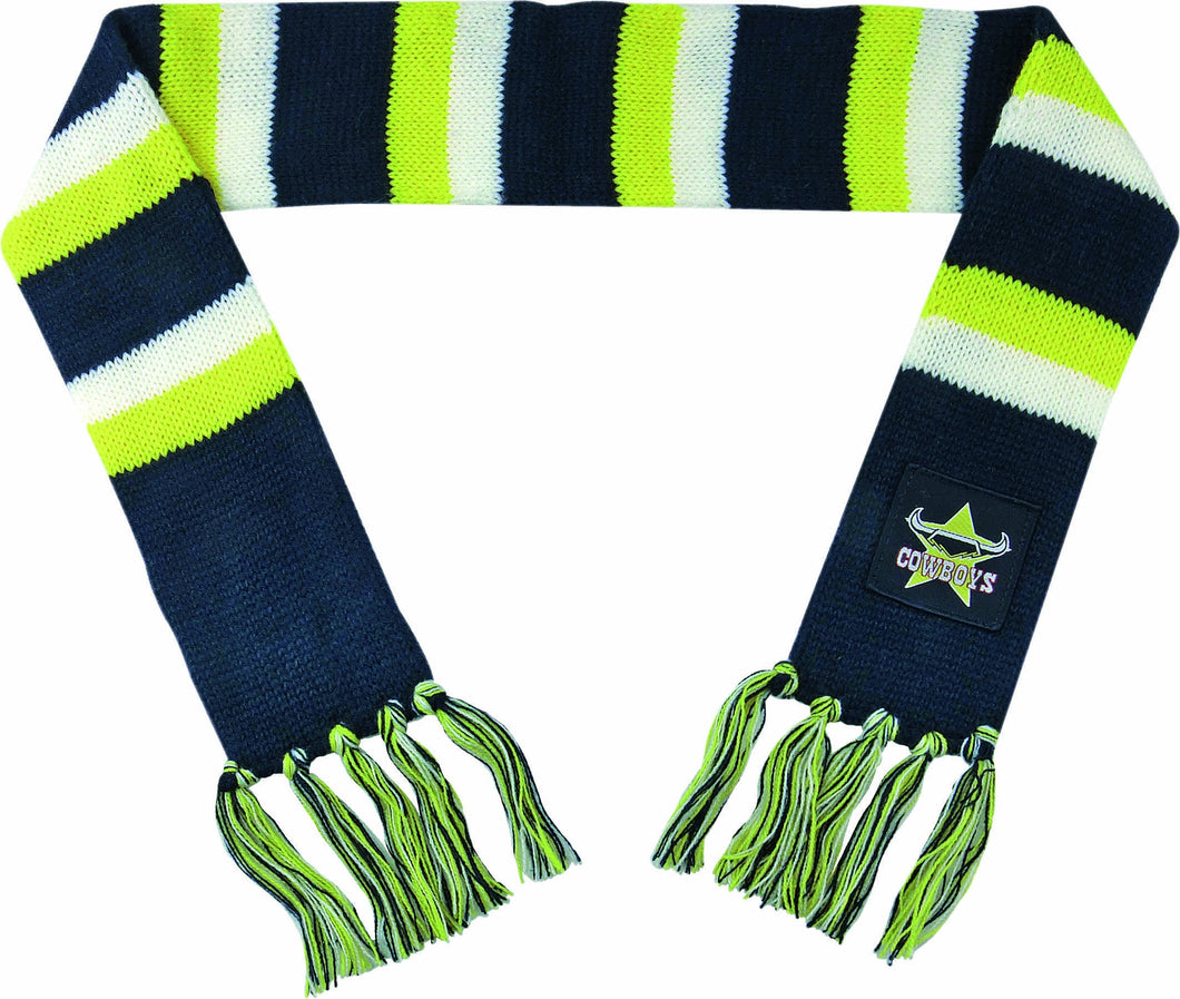 North Queensland Cowboys Official NRL Baby Infant Winter Scarf