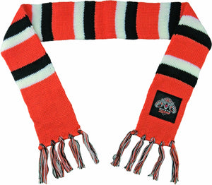 Wests Tigers Official NRL Baby Infant Chunky Knit Winter Scarf
