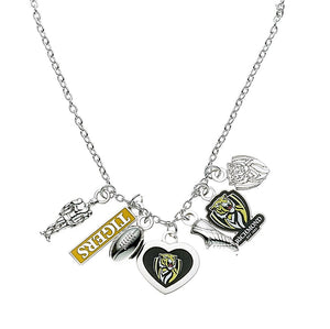Richmond Tigers Official AFL Charm Pendant Necklace Mothers Day