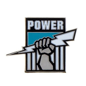 Port Adelaide Power Official AFL Team Logo Lapel Tie Pin