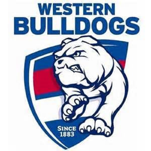 Western Bulldogs Official AFL Team Logo Lapel Tie Pin