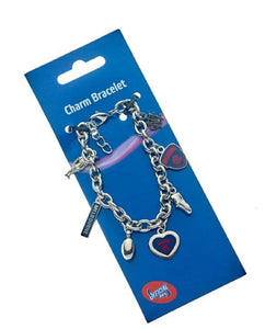 Melbourne Demons Official AFL Official AFL Team Logo Charm Bracelet Mothers Day