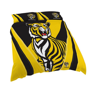 Richmond Tigers Official AFL Double Doona Quilt Cover