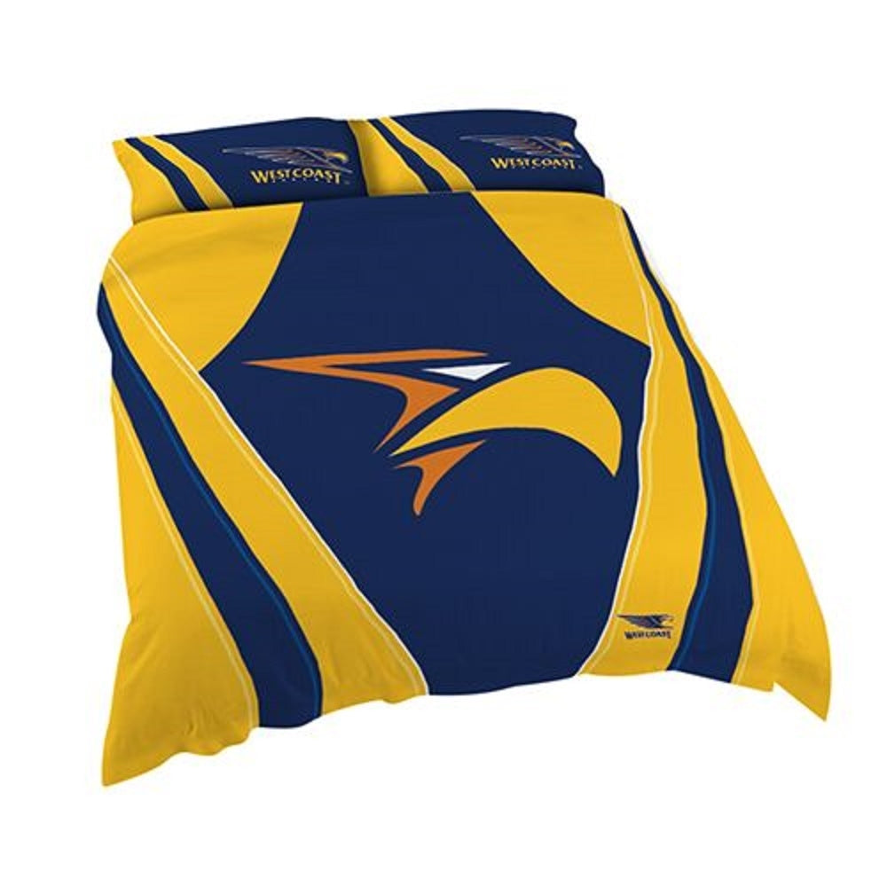 West Coast Eagles Official AFL Double Doona Quilt Cover