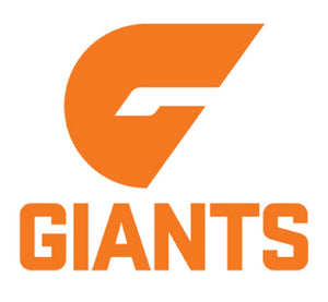 Greater Western Sydney Giants AFL Birthday Celebration Cake Candle Team Logo