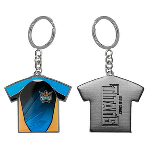 Gold Coast Titans Official NRL Jersey Keyring Licensed