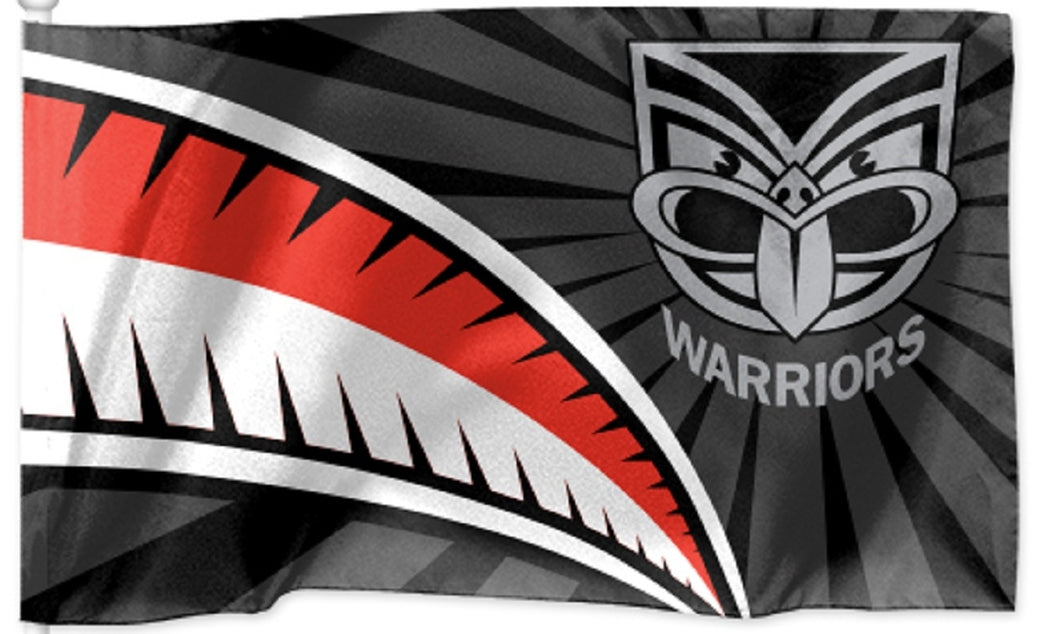 New Zealand Warriors NRL Official Medium Team Flag