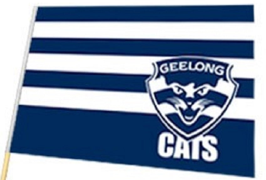Geelong Cats Official AFL Large Flag 60 x 90cm